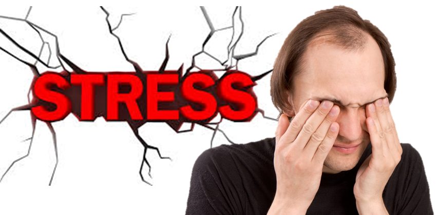 Image result for How Stress Causes Hair Loss?